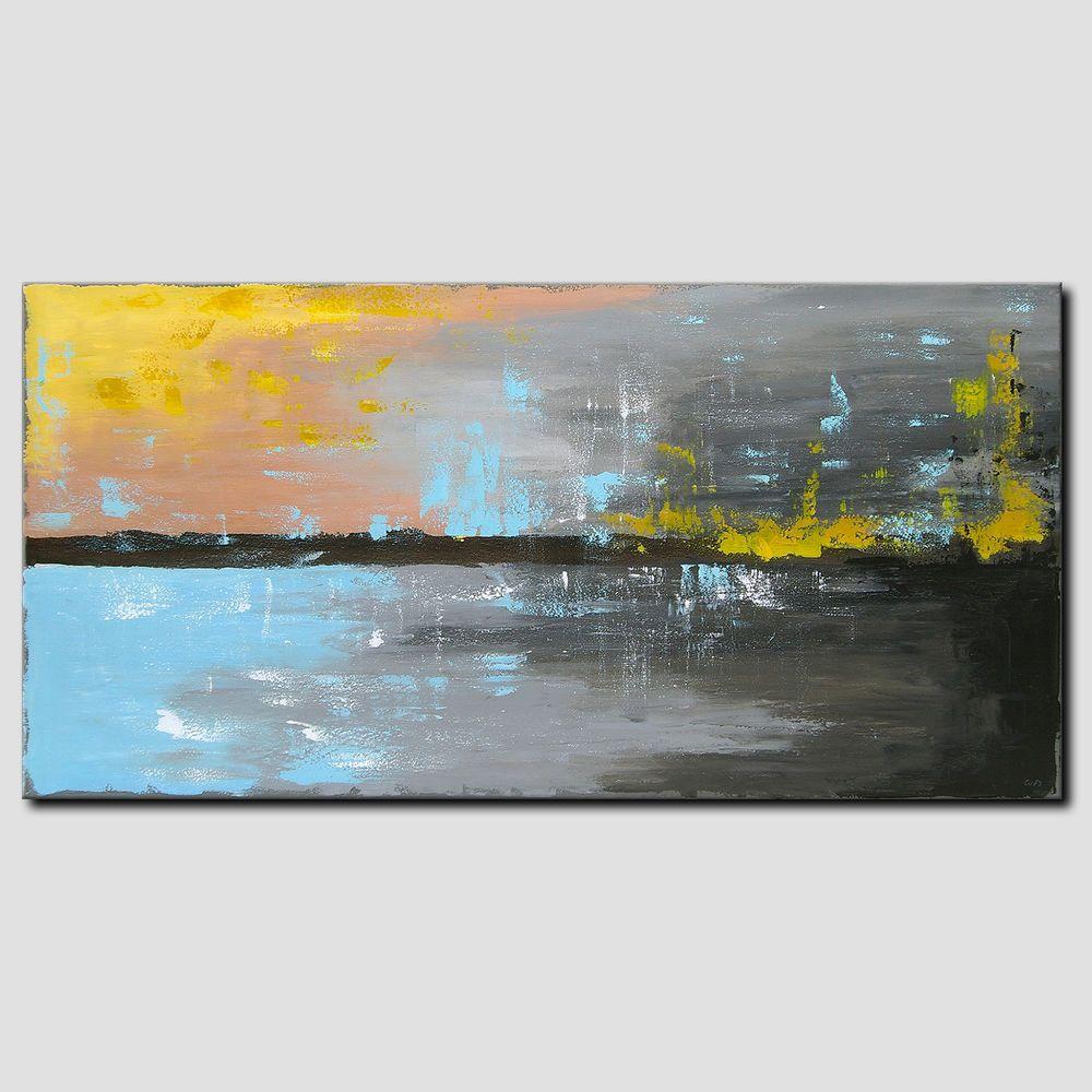 Novaarte Acryl Gemalde Abstrakte Malerei Unikat Modern Kunst Xxl