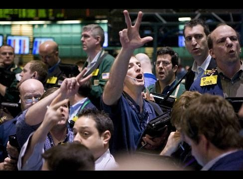 We Could Do Something Like The Stock Market Floor Traders Stock