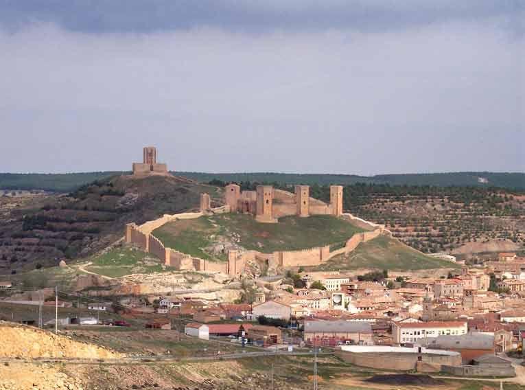 Viaje A Los Lugares Más Fríos De España Noticias De El Tiempo Castillo De Molina Castillos Fotos De Castillos