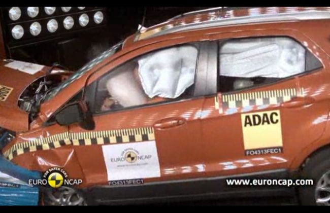 Euro Ncap Four Star Safety Rating For Ford Ecosport Ford Ecosport Ford Outlander Phev
