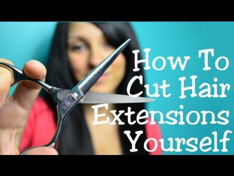 how to cut trim hair extensions yourself instant beauty how to cut trim hair extensions yourself instant beauty youtube solutioingenieria Image collections