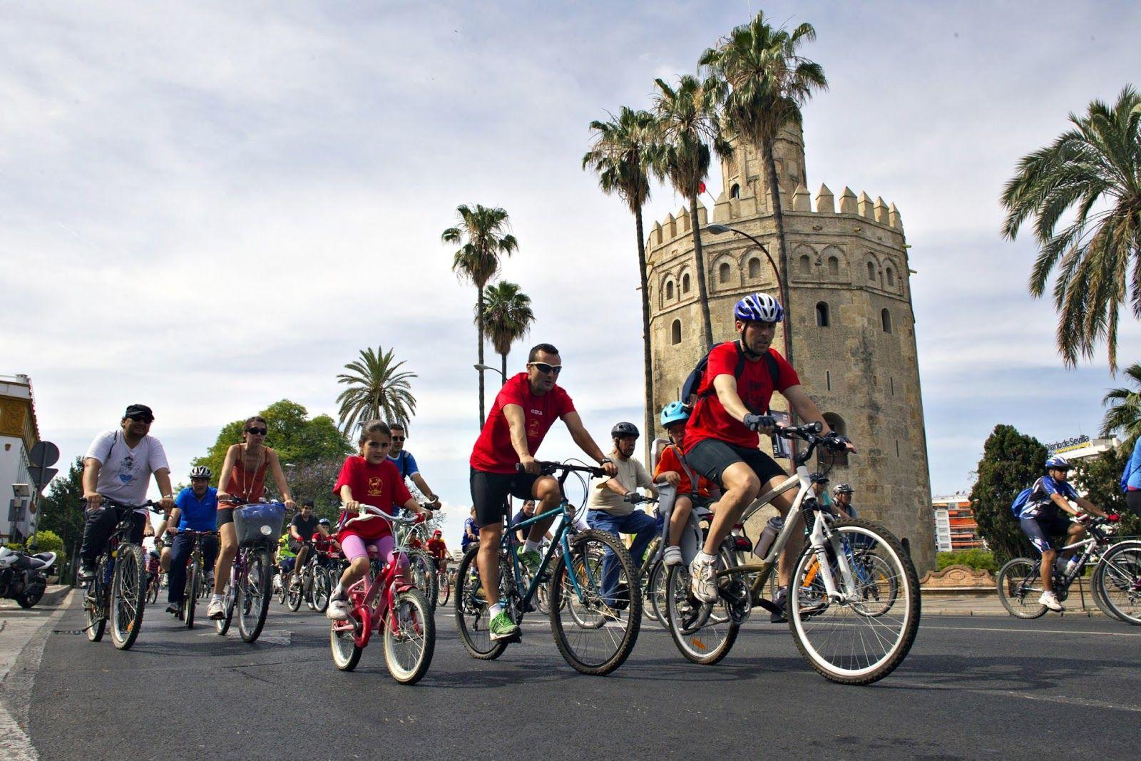 5 orase bike friendly din Europa: Sevilia, Spania. www.haisitu.ro