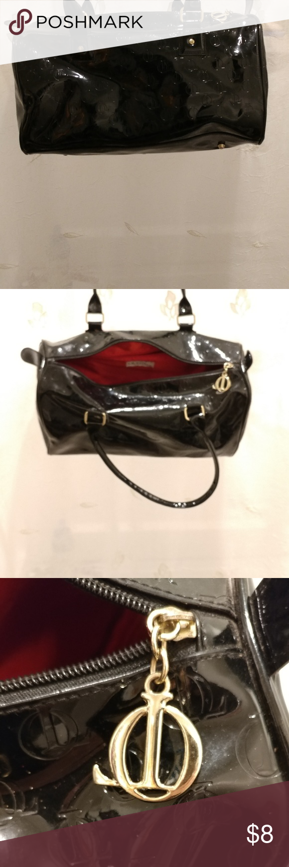 Queen Latifah Black Handbag