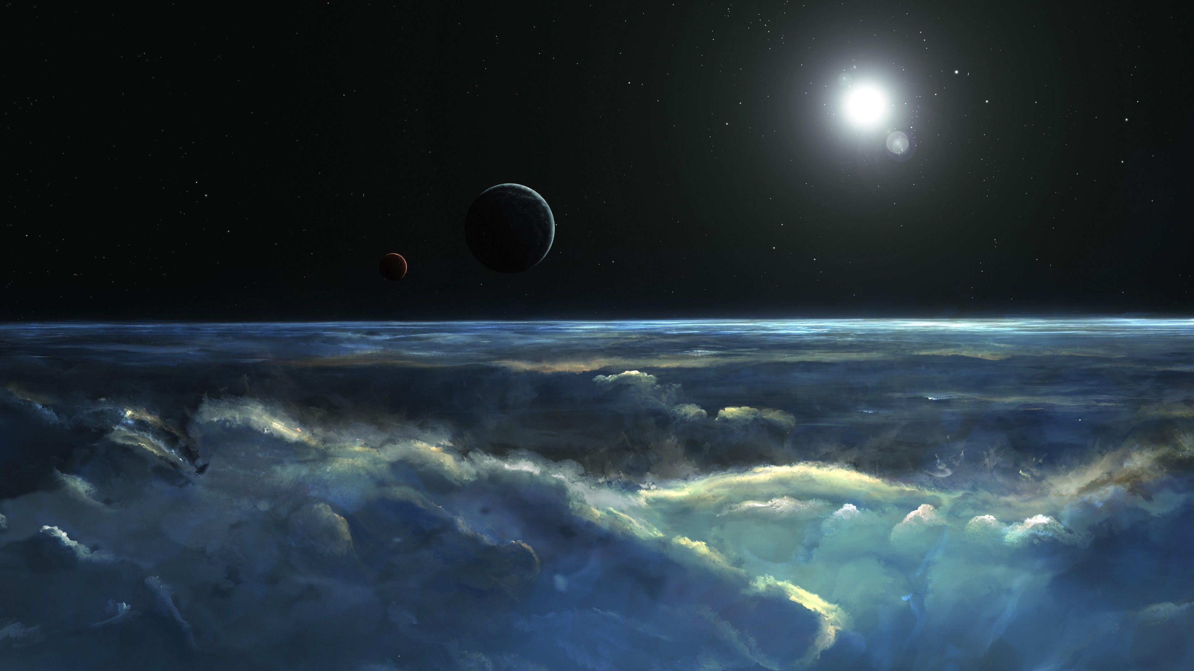 Earth Stormy Atmosphere 4k Wallpaper