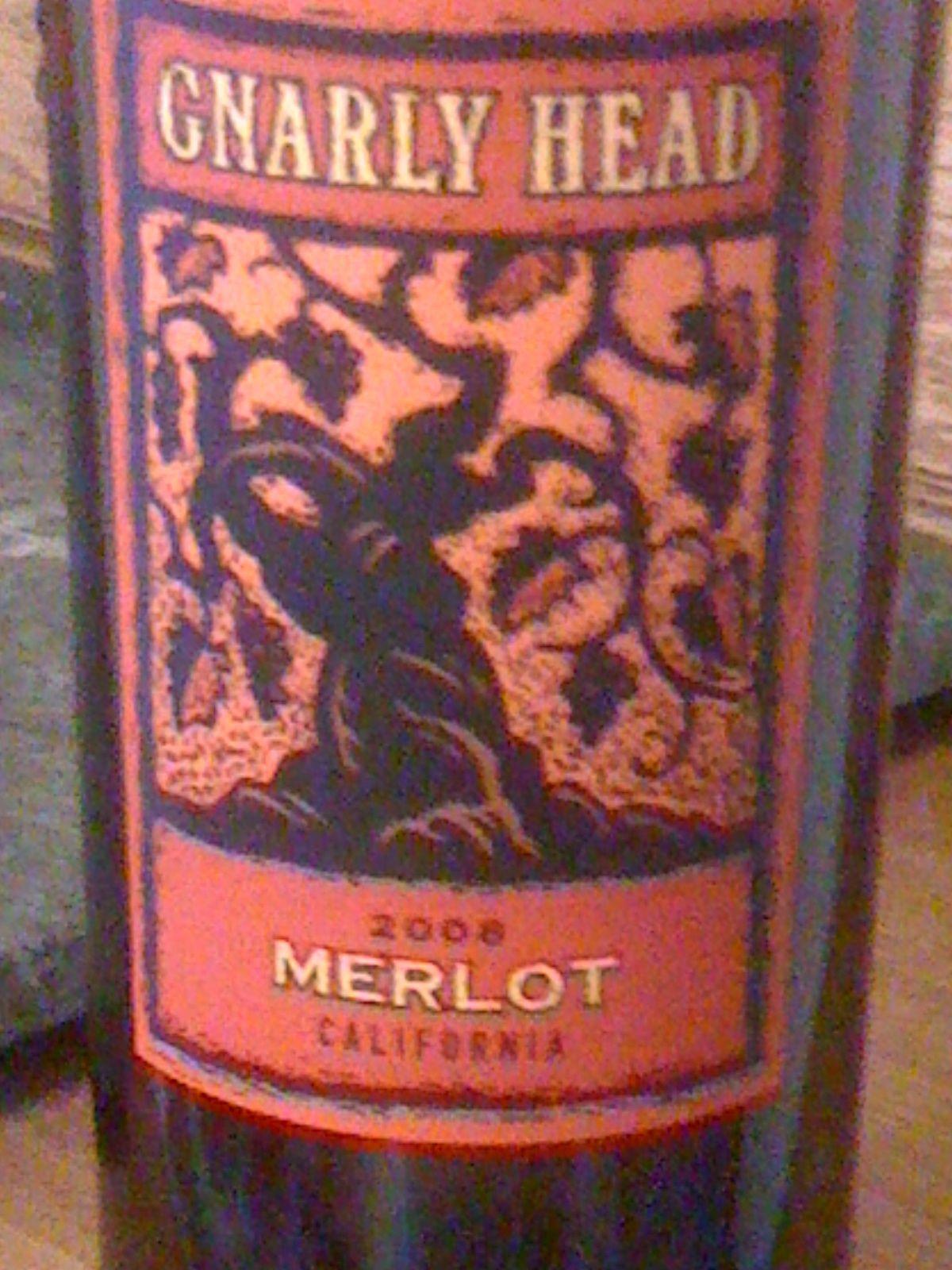 Gnarly Head Merlot Bottle Merlot Gnarly