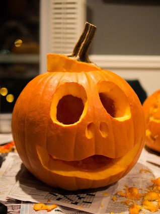 template jack o lantern ideas easy  Pumpkin Carving Ideas: 6 Unique And Simple Jack-O ...