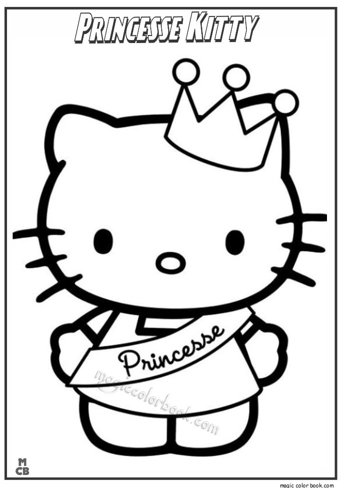 Hello Kitty Archives Magic Color Book Hello Kitty Fargelegging Fargeleggingsark