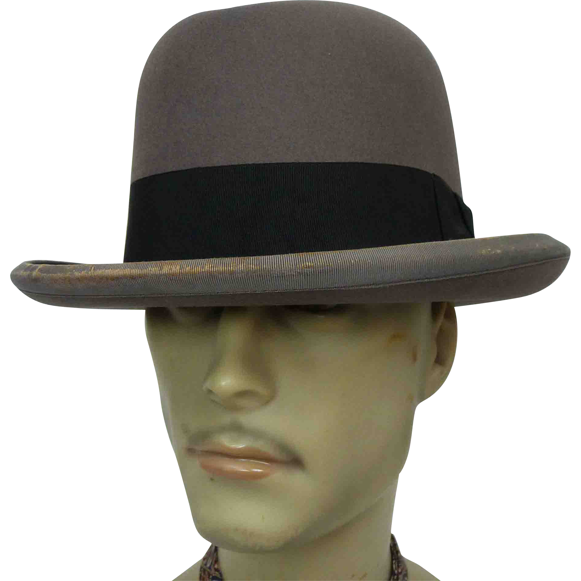 457e9bd2 1950s to 1960s Herbert Johnson for Brooks Brothers Homburg, offered by Ruby  Lane Shop, Noble Savage Vintage.