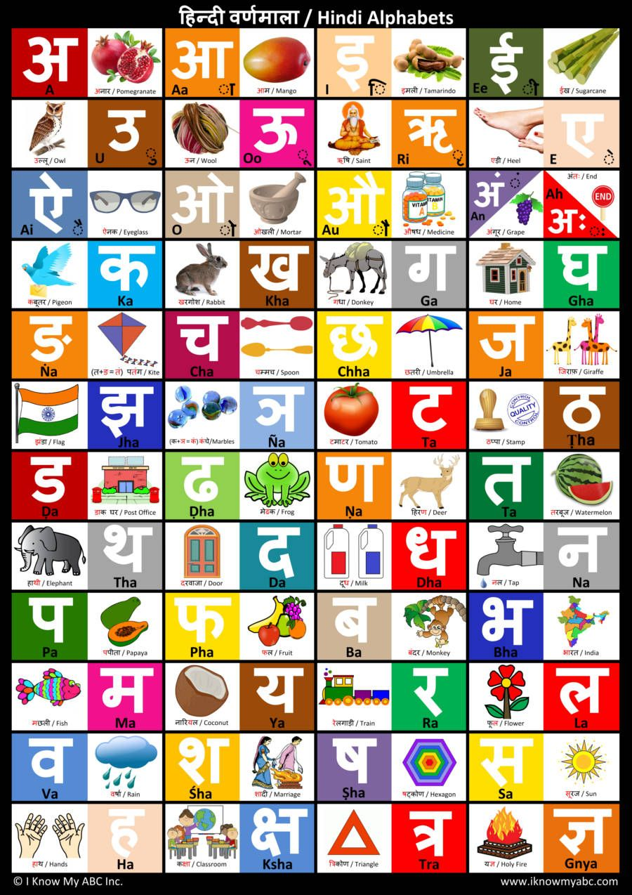Letter In Hindi Word