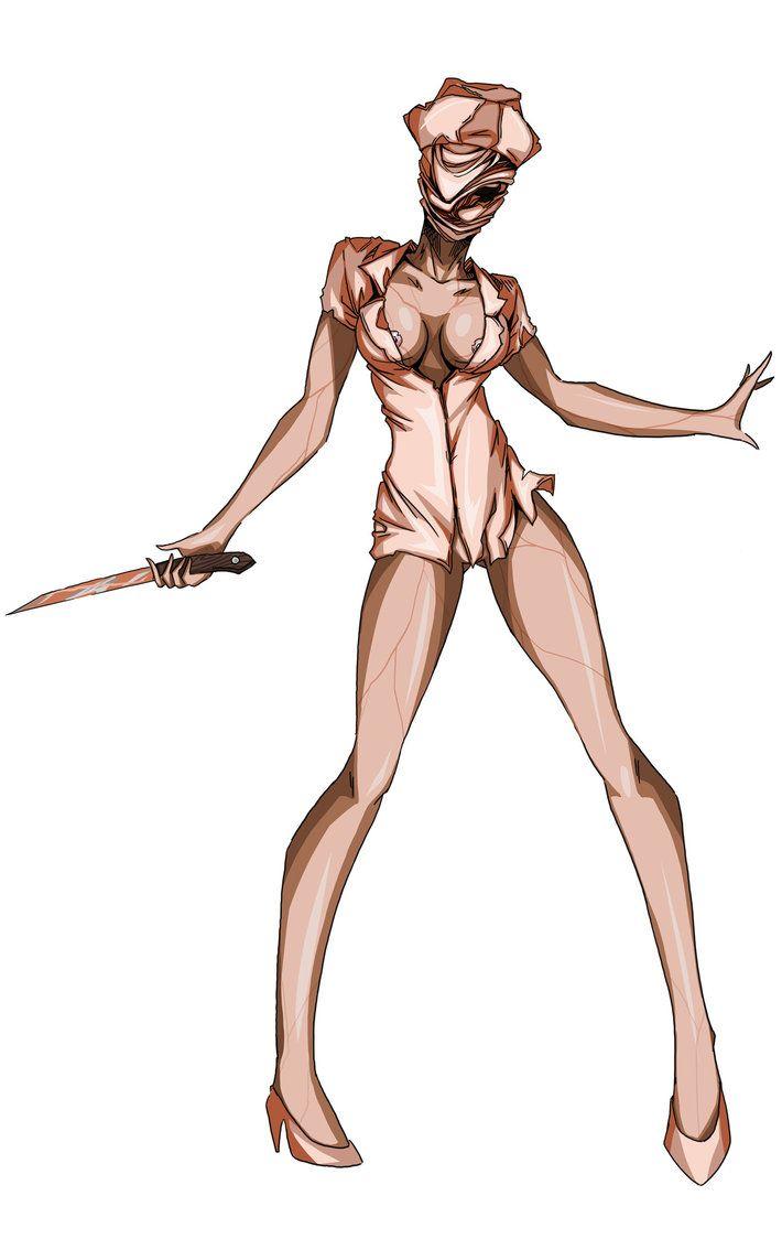 Silent Hill Enfermeira a2 POR Agacross  Terror  Pinterest
