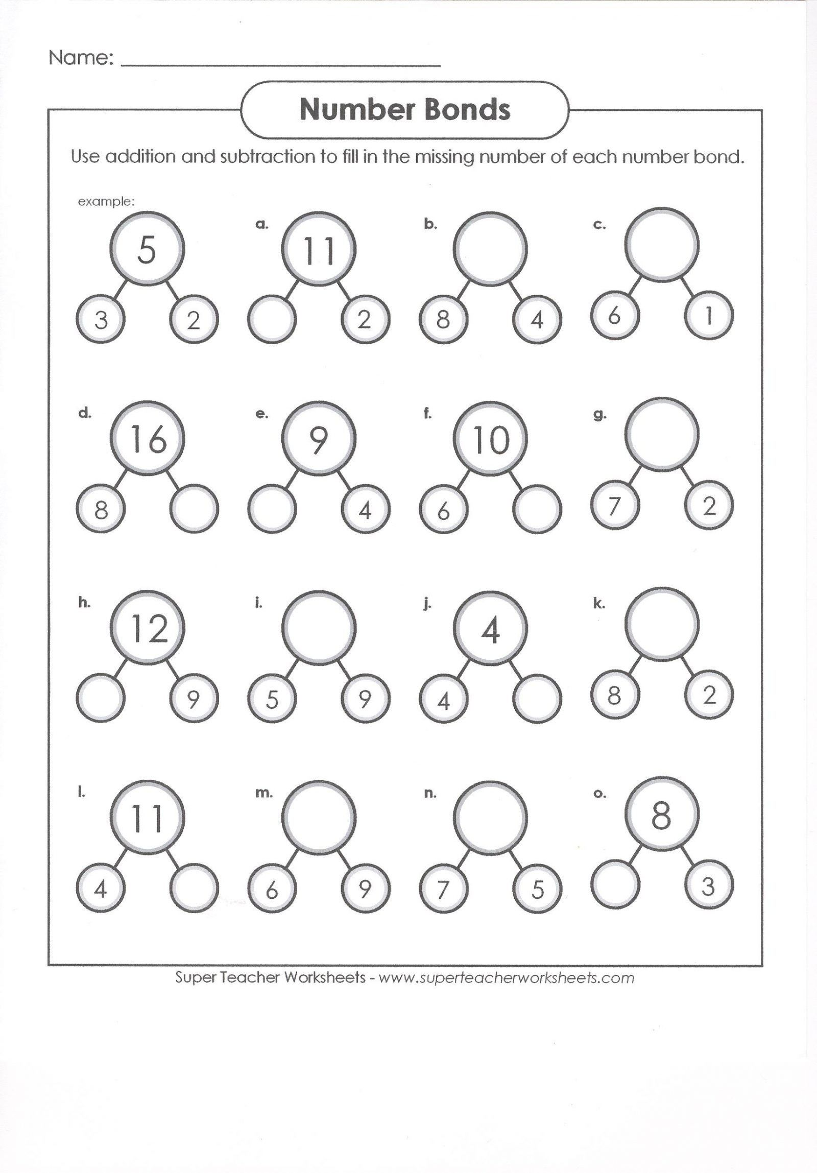 40 Clever 1st Grade Math Worksheets Design