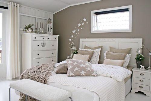 Gemütliches Schlafzimmer ~ Clean look ikea wandfarbe schlafzimmer und wohnen