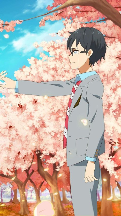 Couple Image Your Lie In April Anime Wallpaper Anime Anime wallpaper your lie in april