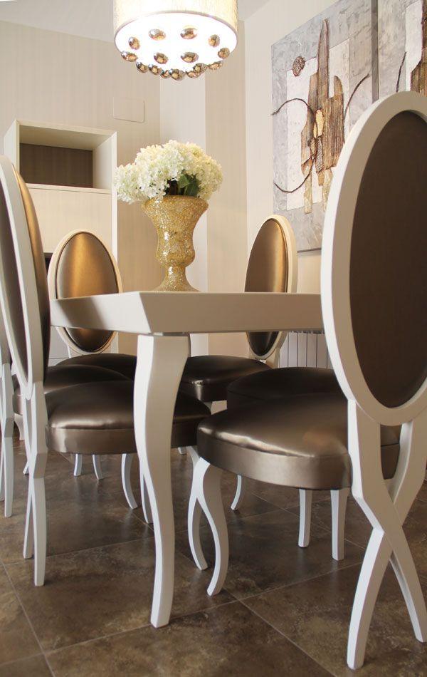 Dining Room Furniture Dallas Detallesillacomedor  Donna Decorates Dallas  Tuscan Style