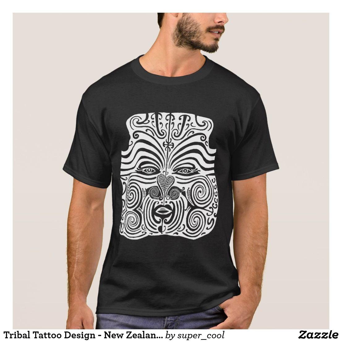 Design t shirt new zealand - Tribal Tattoo Design New Zealand Maori T Shirt