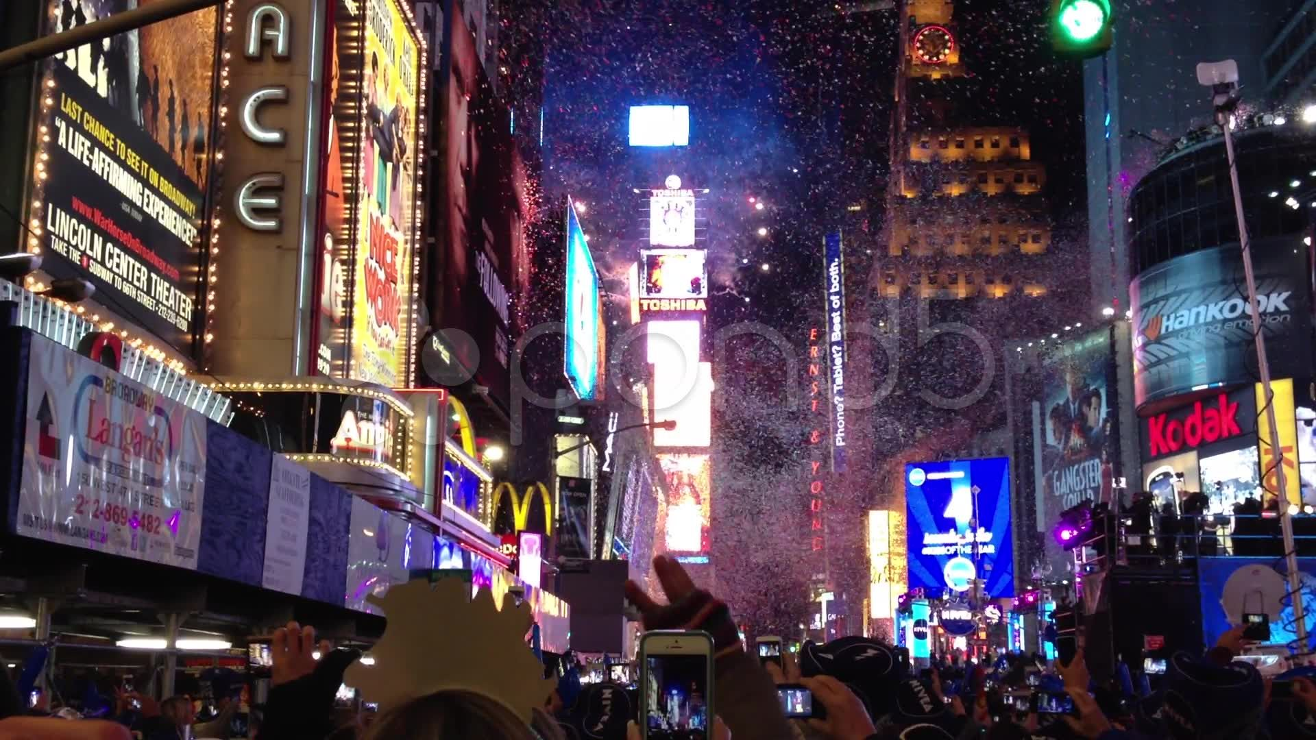 New York City Times Square New Year's Eve countdown ball
