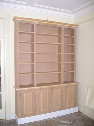 A Bookshelf Built Entirely Of Mdf Bookshelves Diy Bookcase Plans Diy Bookshelf Plans