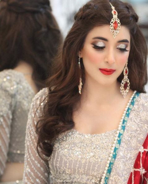 Wedding Hairstyle Pakistani: Mehndi Hairstyles, Pakistani Wedding Hairstyles