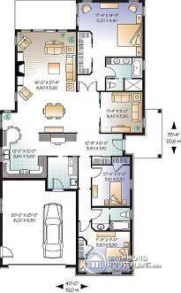planos de casas un nivel