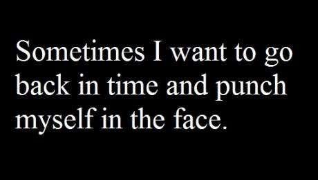 #Regrets