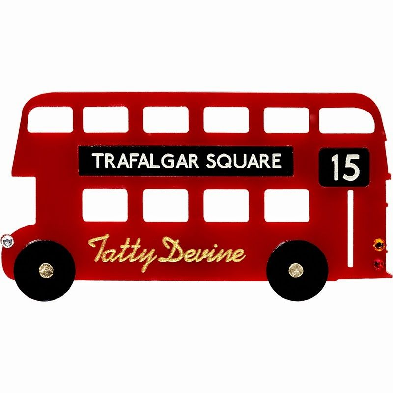 Tatty Devine for the London Transport Museum Shop