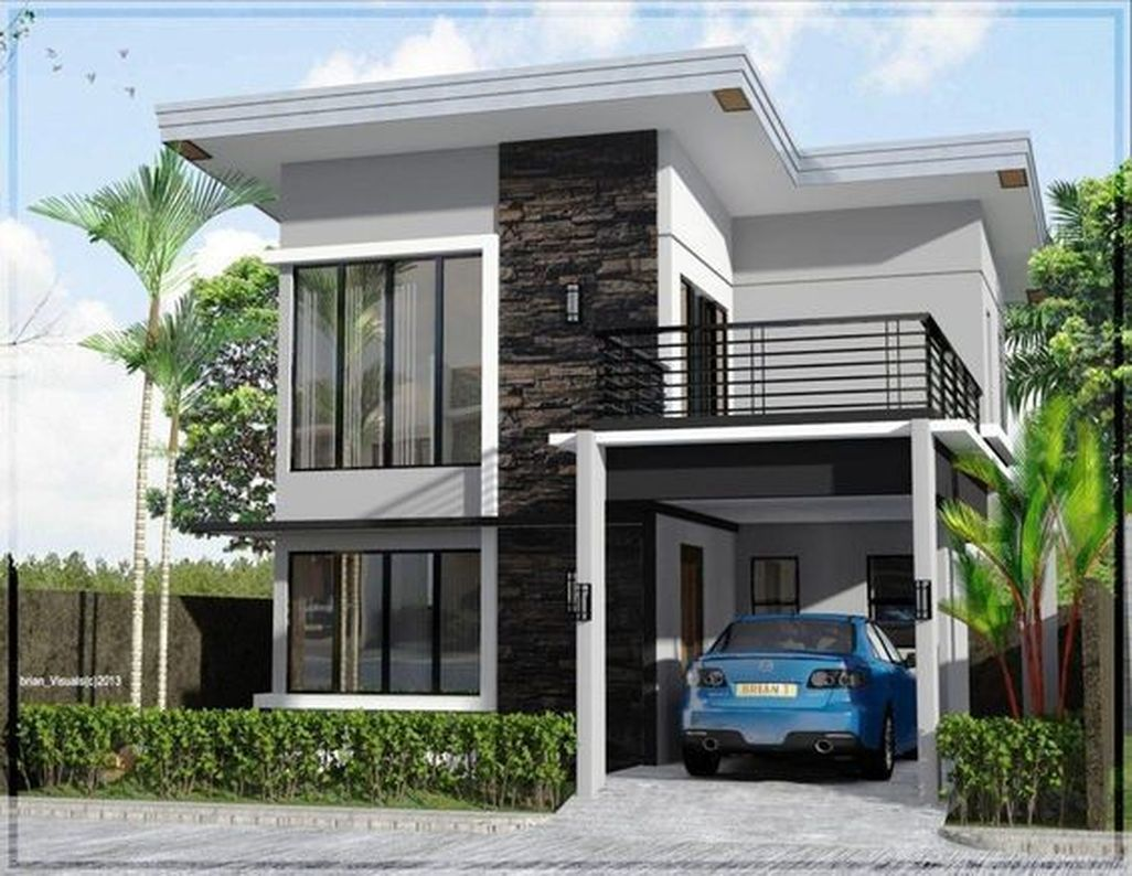 Nice 42 Elegant And Cozy Home Desain Ideas More At Https Trend4homy Com 2018 05 12 42 Elegant And C 2 Storey House Design Two Story House Design Asian House