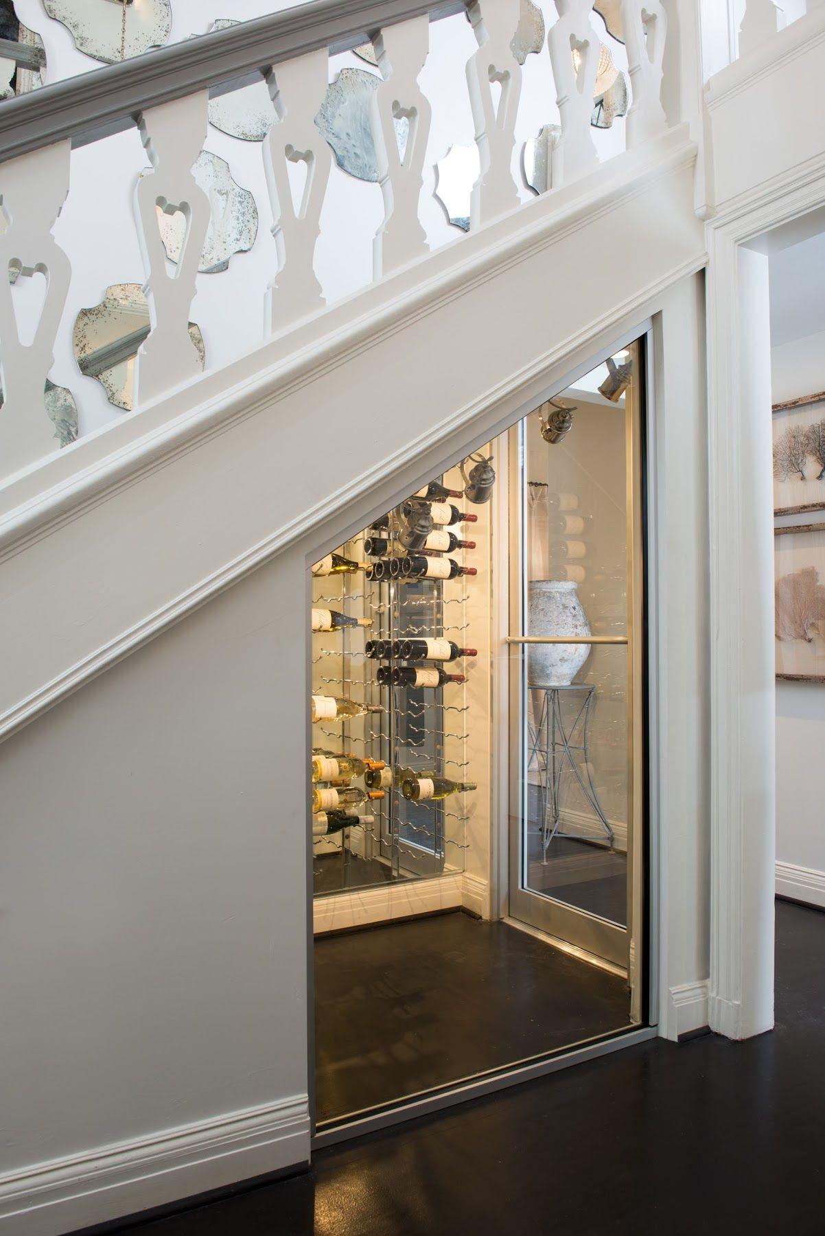 Underneath The Stairs, Randal Created An Ingenious Wine Cellar! COTE DE  TEXAS: AIDAN GRAY WITH AN EDGE #AGWITHANEDGE