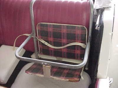 Early 1960s baby car seat | Vintage Child Safety Seats & Other ...