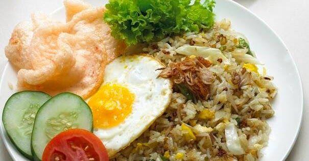 Resepi Nasi Goreng Ikan Bilis Kampung Nasi Bah Nasi