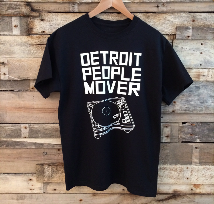 The perfect shirt for any music lover! Detroit x Music = Detroit People  Mover