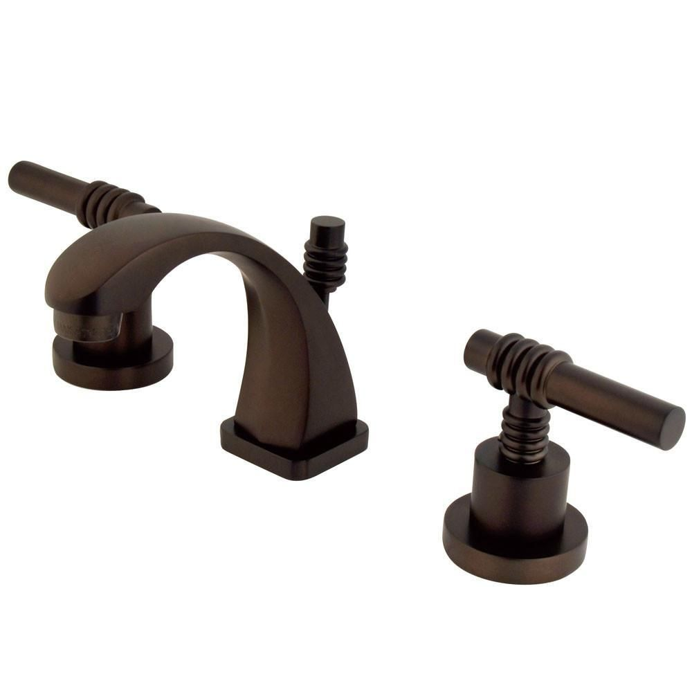 Kingston Oil Rubbed Bronze 2 Hdl 4 Quot 8 Quot Mini Widespread