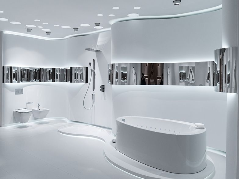 Technology the focus in bathroom design by noken for Porcelanosa bathrooms prices