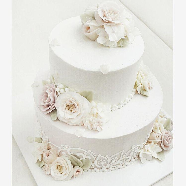 #웨딩케익 #제주버터비 #제주웨딩 #소규모웨딩 #웨딩 #weddingcake #wedding #jeju #빈티지웨딩 #웨딩케이크 #2단케이크…