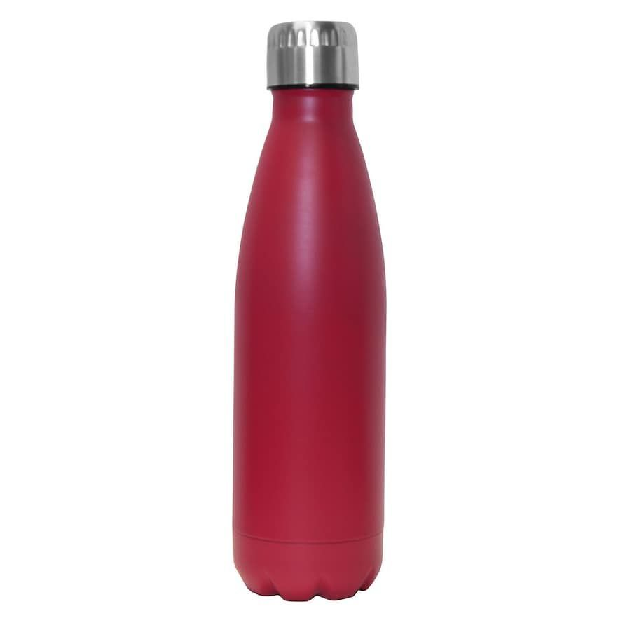 Wellness Double Wall Stainless Steel 17 Oz Water Bottle Water Bottle Bottle Stainless Steel Water Bottle
