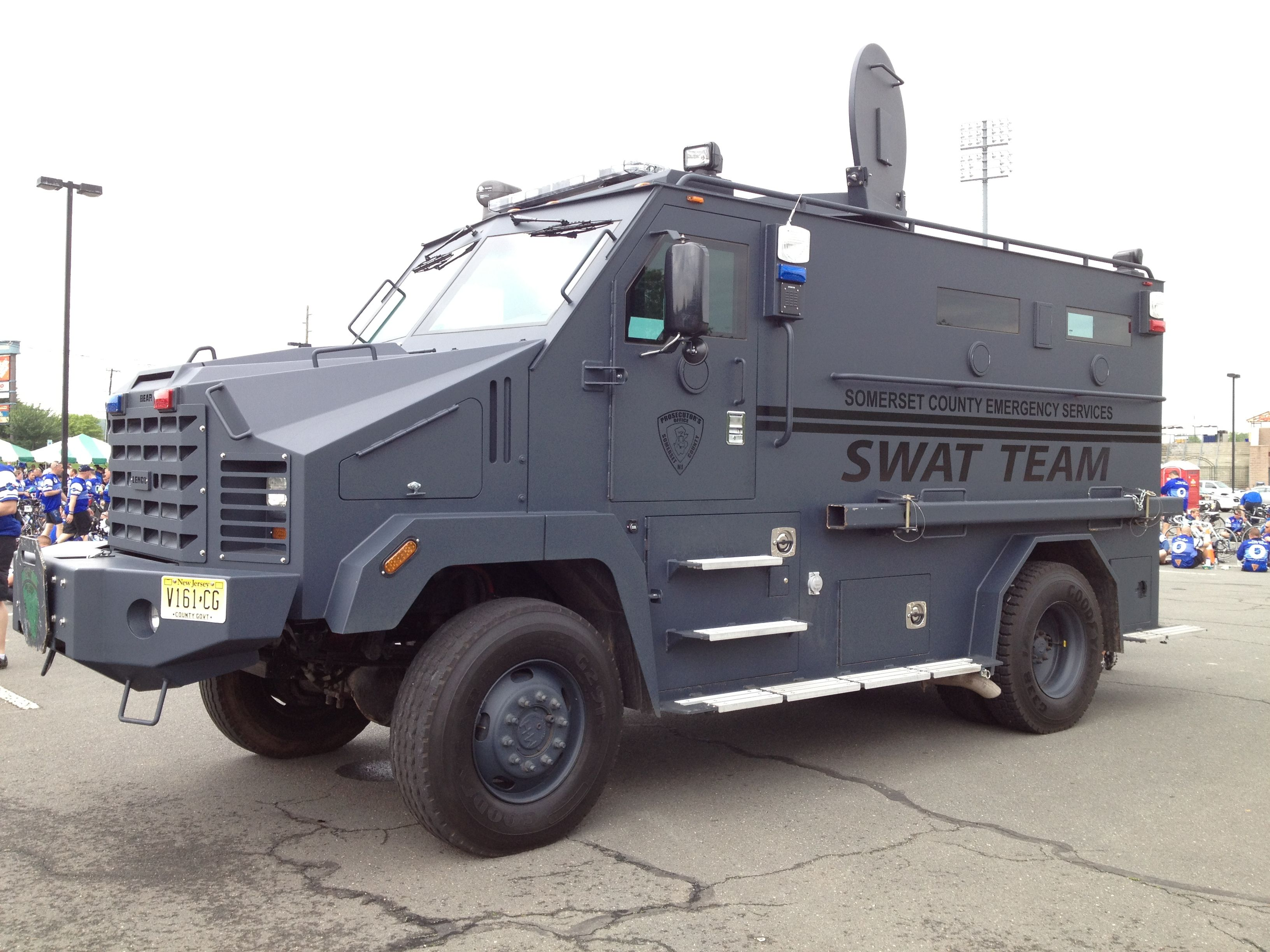 Somerset County Nj Swat Truck Police Truck Armored Truck Emergency Vehicles