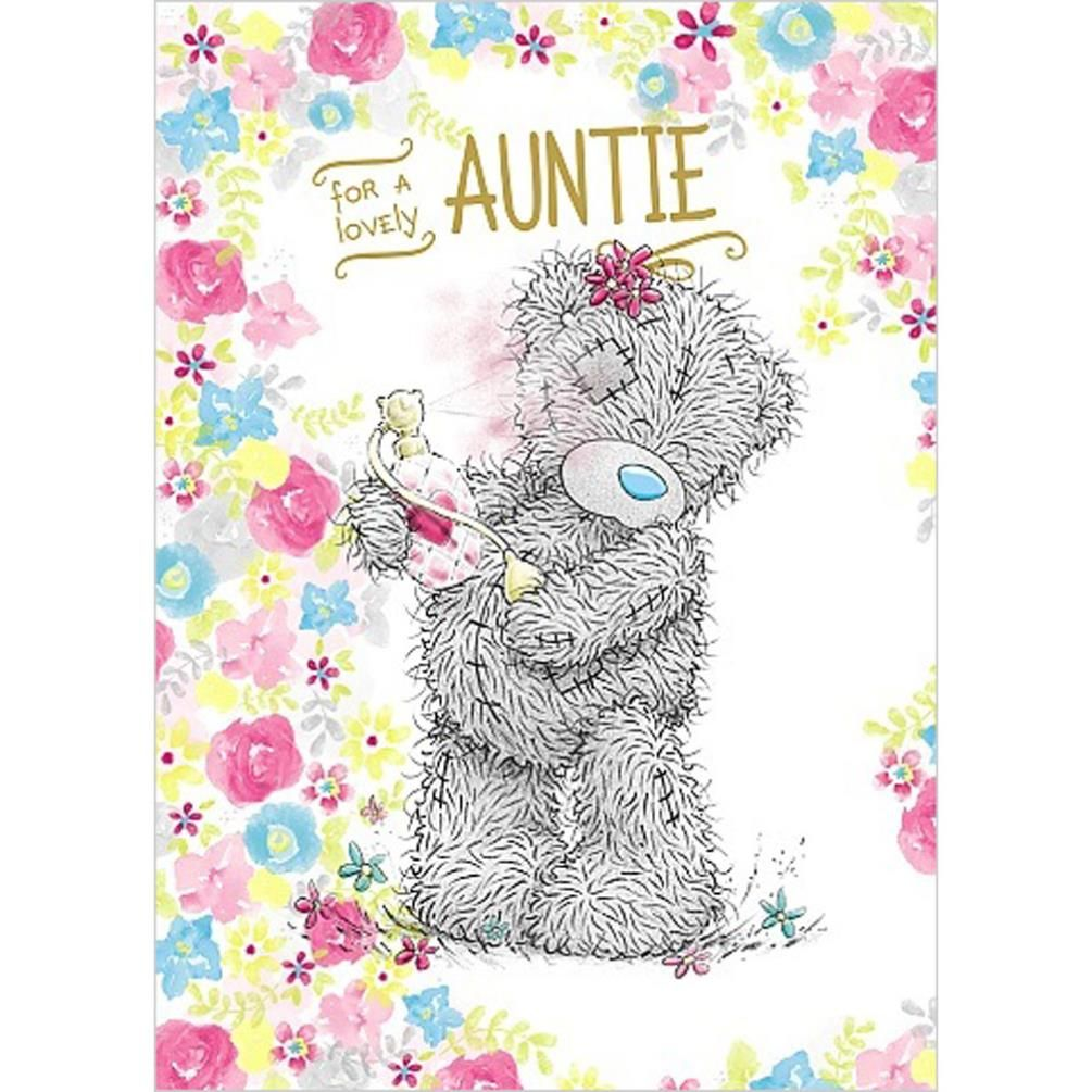 Auntie Birthday Me to You Bear Card 179 – Me to You Birthday Card