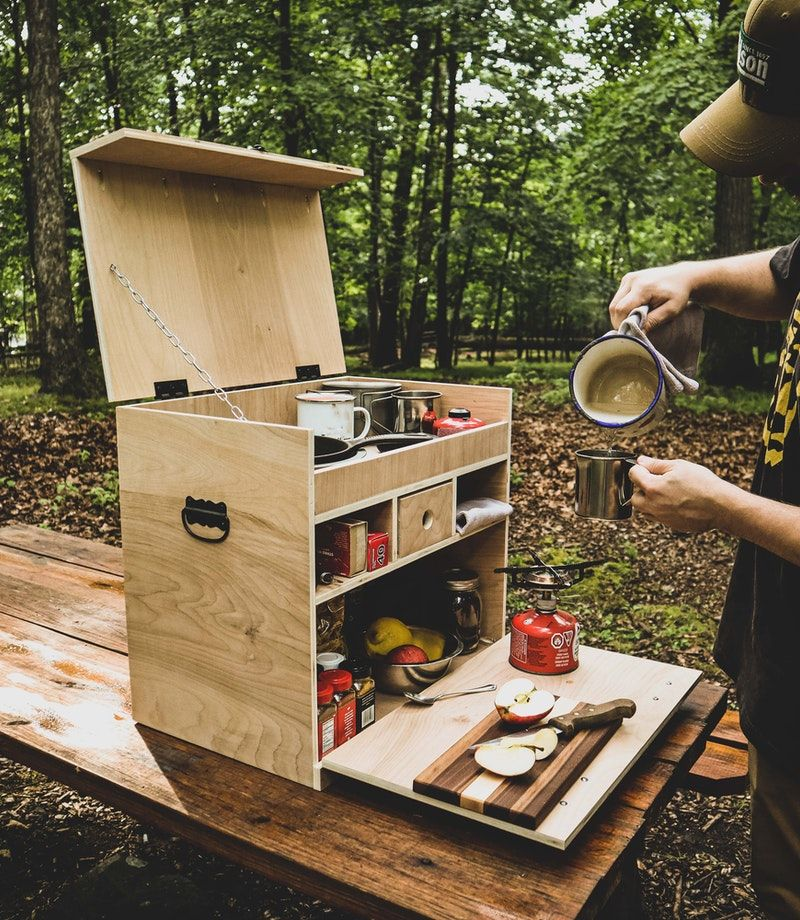 Diy camp chuck box the filson journal in 2020 camping
