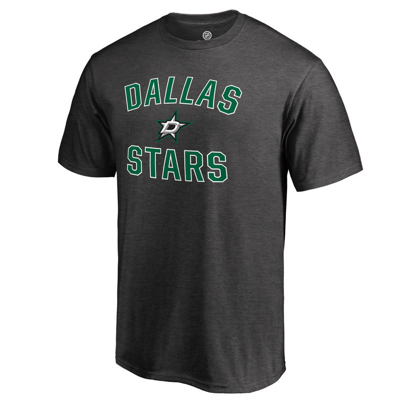 91adac914bb Dallas Stars Fanatics Branded Victory Arch T-Shirt - Heathered Gray ...