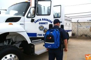 Direct Relief USA provides Medical Reserve Corps (MRC) volunteers with ruggedized, specially designed backpacks filled with medical supplies to help address community health needs in an emergency.