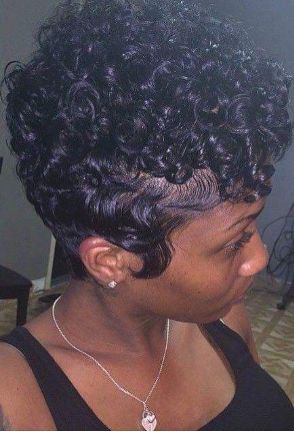 Pin by Shay Wagner on Hair styles  Finger wave hair, Natural hair