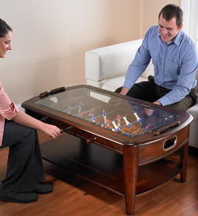 Coffee table for the sports room for brett pinterest for Man cave coffee table ideas