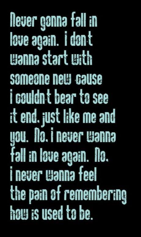 i wanna fall in love with you lyrics