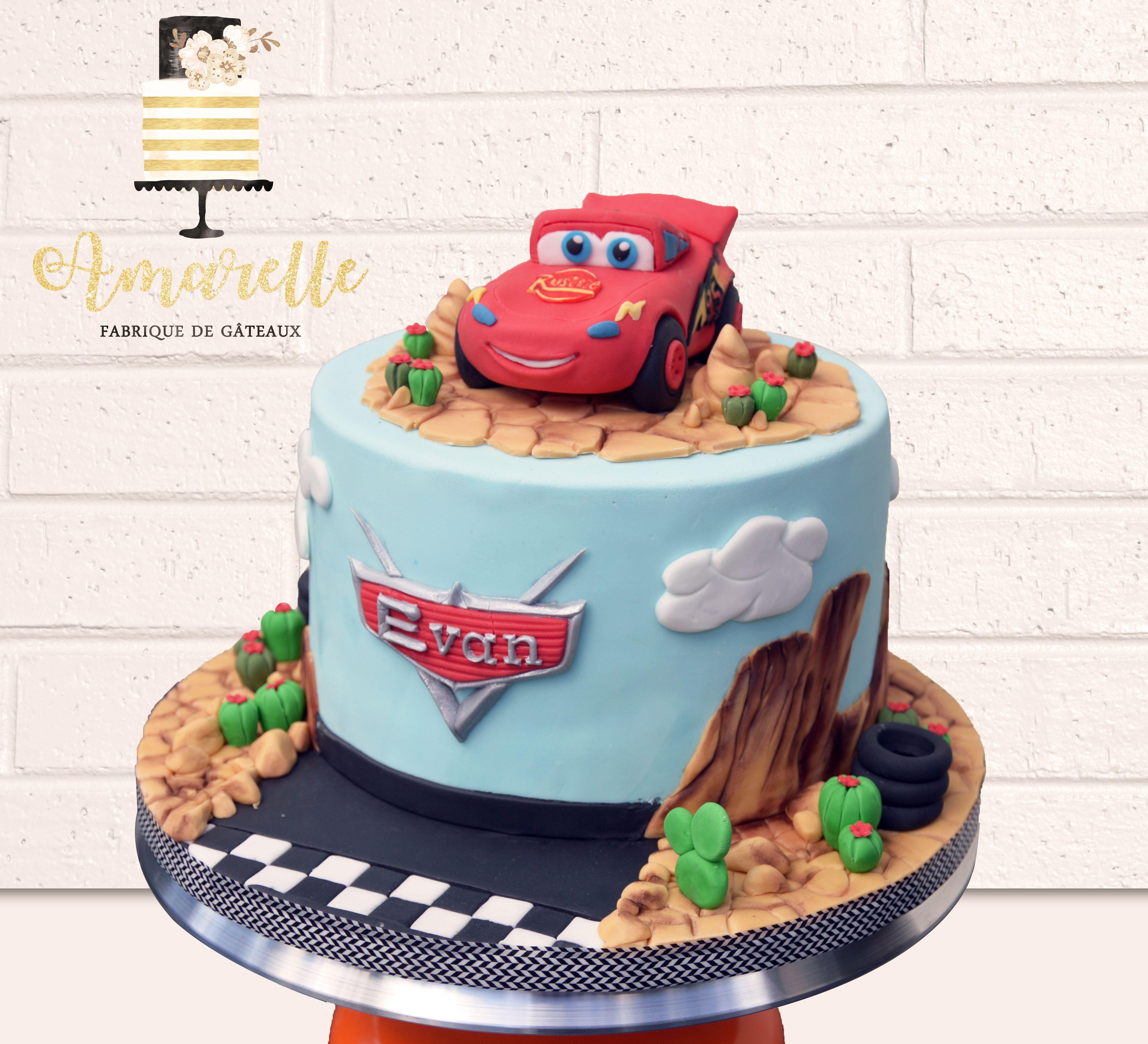 Cars cake flash Mc Queen cake design