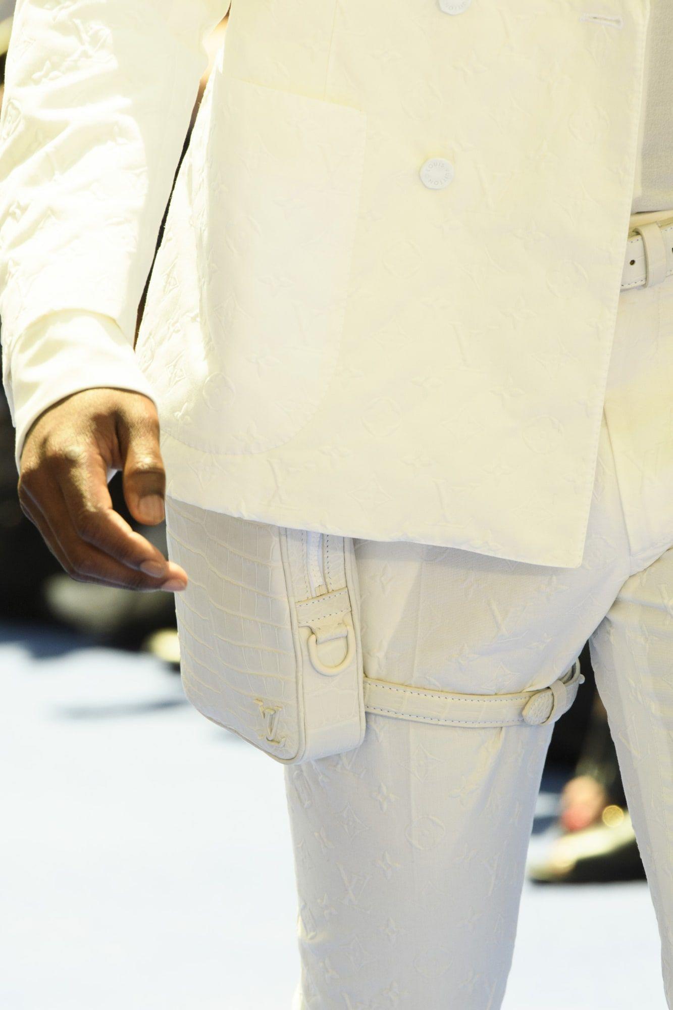854bd967b6b Virgil Abloh Louis Vuitton Men s Spring Summer 2019 Sneakers Sunglasses  Bags Accessories - Fashionista  Mensaccessories