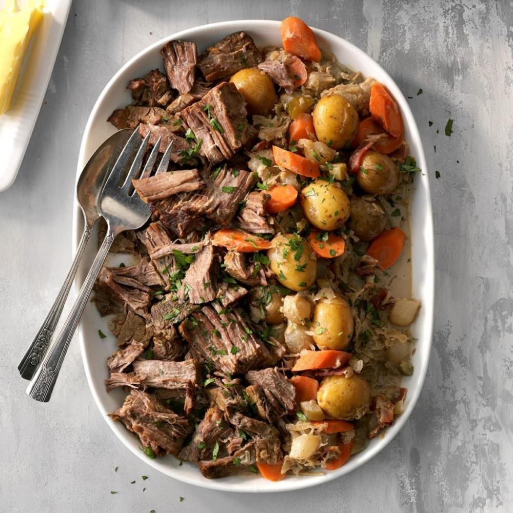 Grampa's GermanStyle Pot Roast Recipe Pot roast, Slow