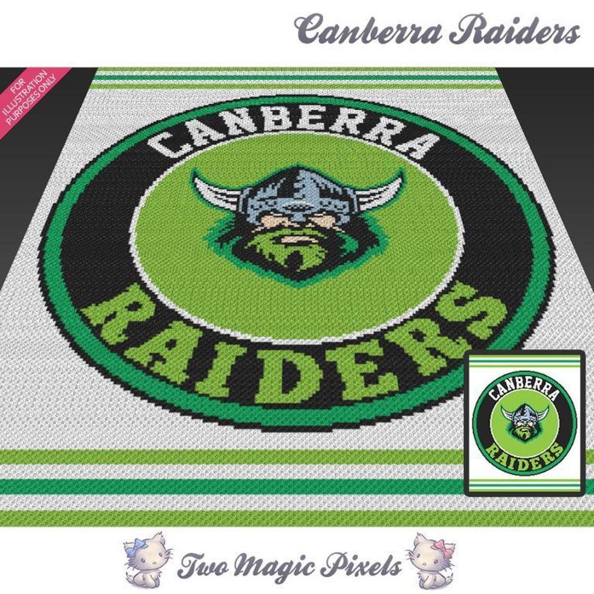 Canberra Raiders Crochet Graph
