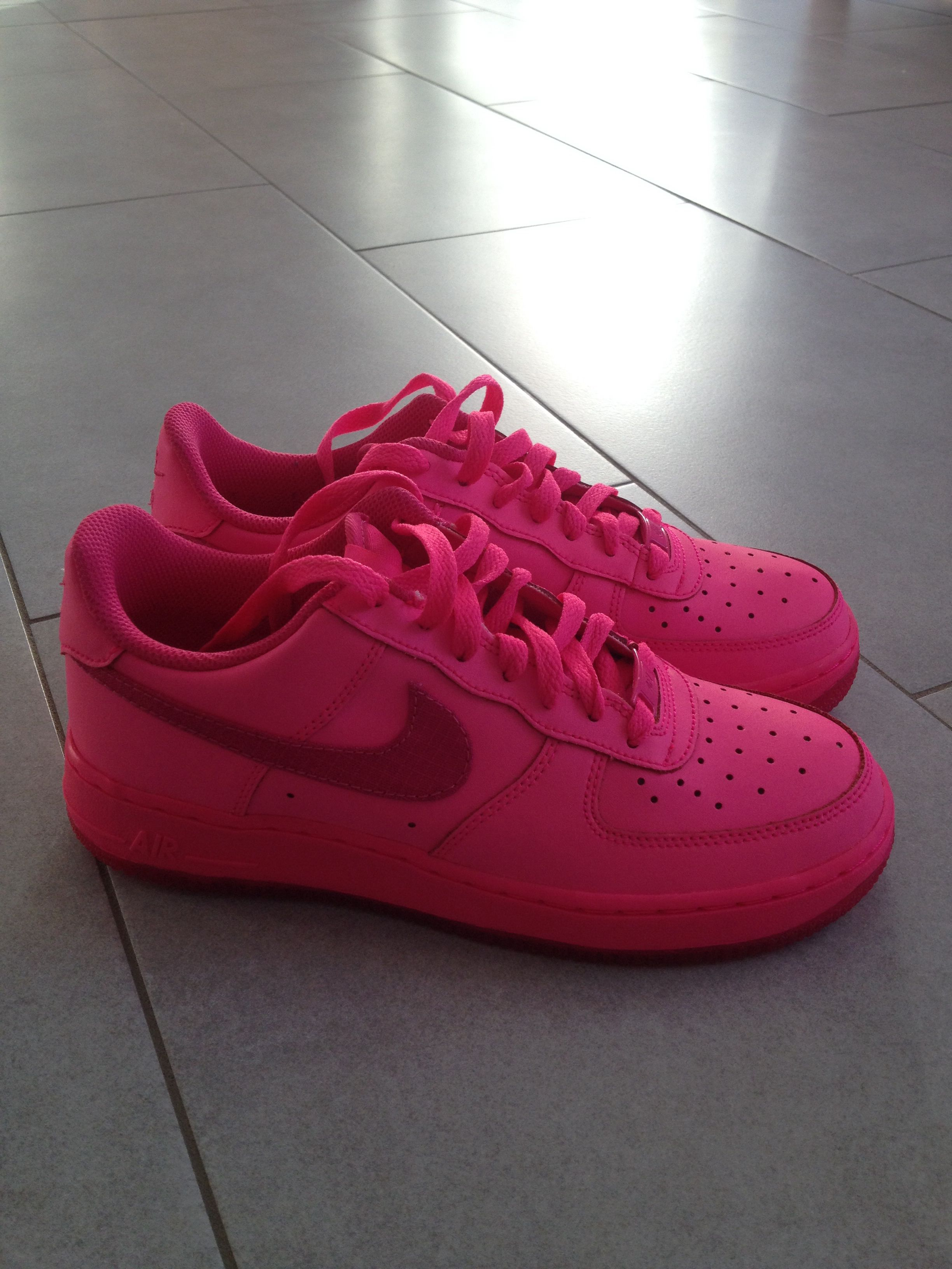 Pink Nike Air Force One