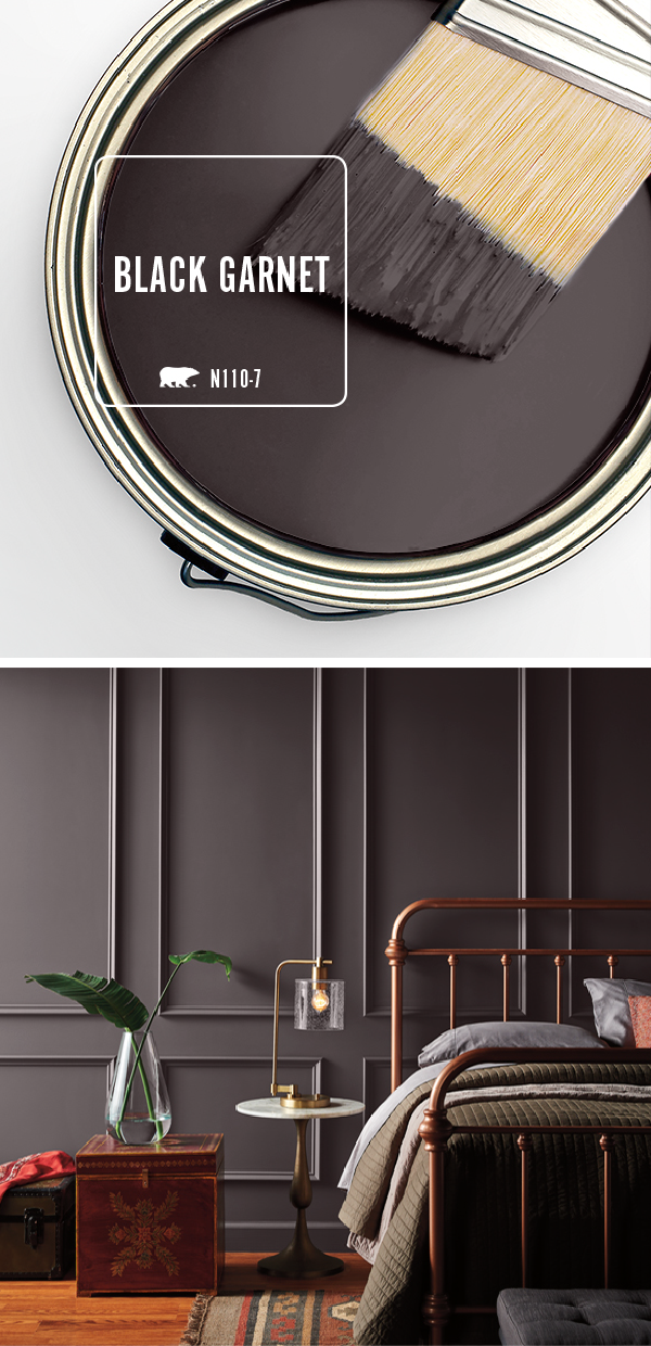 Color of the Month Black Garnet Modern Style Inspiration