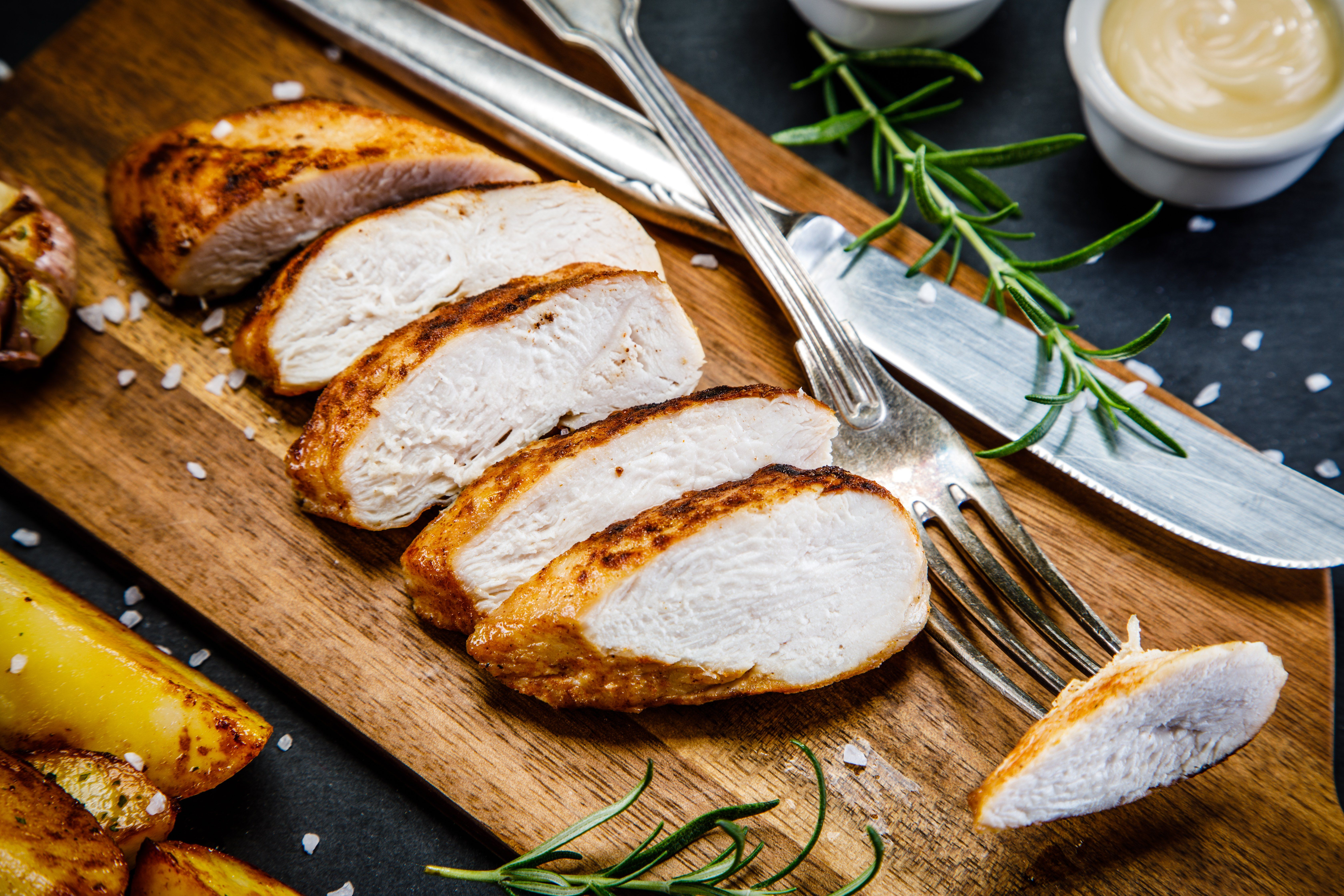 How to Bake Thin-Sliced Chicken Breasts images