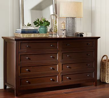 Pottery Barn Hudson Extra Wide Dresser   $1,899   Paneled And Dovetailed  Drawers, Ornamental
